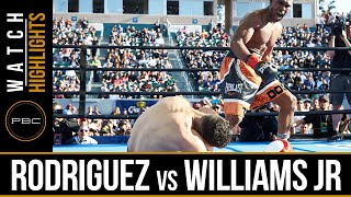 Rodriguez vs Williams Jr HIGHLIGHTS: April 30, 2016 - PBC on FOX