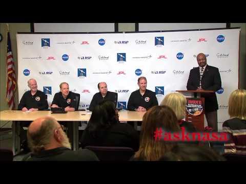 MAVEN Post Mars Orbit Insertion News Conference