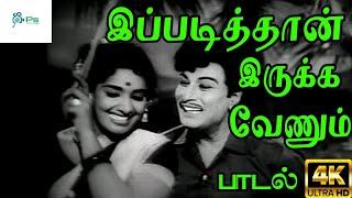 இப்படித்தான் இருக்க வேணும் || Ippadithan Irukka  ||T. M. Soundararajan,P. Susheela  Love Duet Song