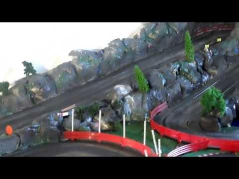 circuit slot car rallye montagne scalextric ninco carrera à saint abit