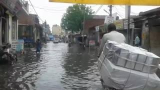 delhi mithapur jaitpur badarpur delhi after rain
