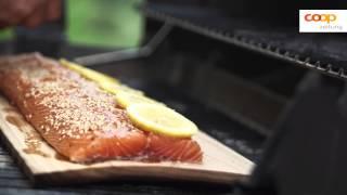 Grillerinstinkt: Lachs auf Zedernholz-Brett