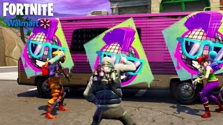 Sprays gratuits de Walmart Fortnite