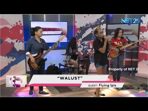 FLYING IPIS - WALUST (NET25 LETTERS AND MUSIC)