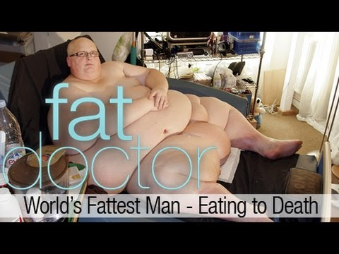 World's Fattest Man - Eating to Death - 900 lbs Paul Mason c
