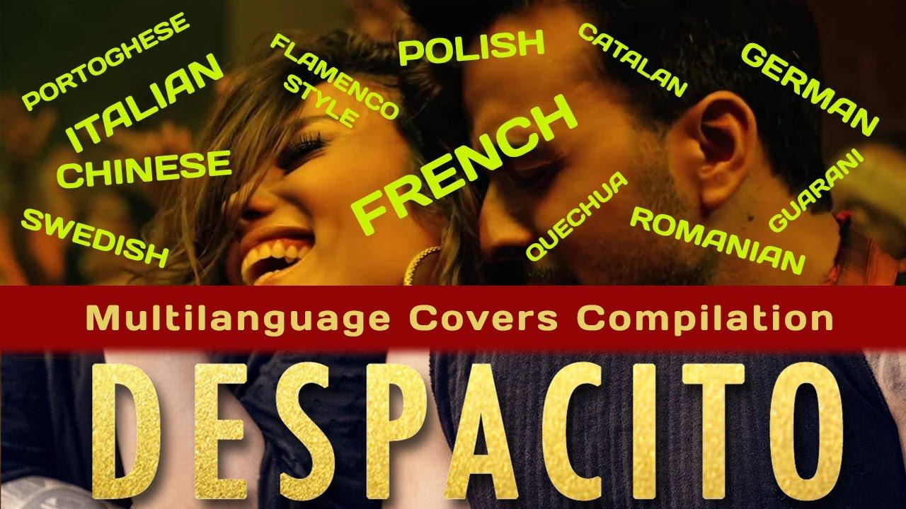 Despacito на повеќе од 10 јазици