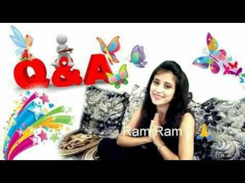 My first  Q/A video for my lovely YouTube family 😘😘😘