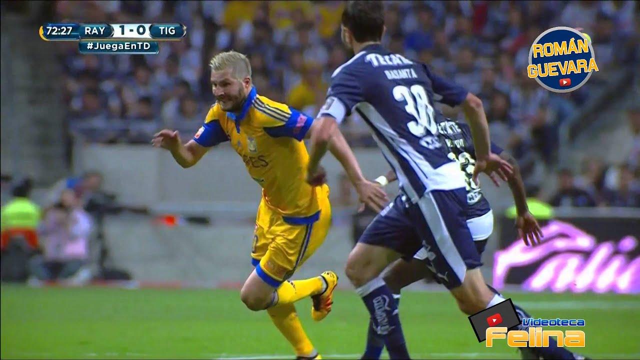 Clásico 106 Monterrey vs Tigres 1-0 Jornada 9 Clausura 2016 Liga Mx HD - YouTube