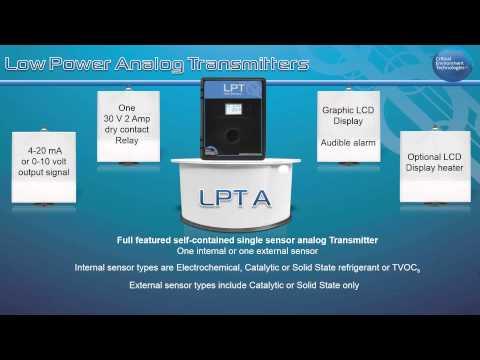 LPT and LPT-A Gas Detectors