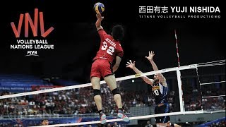 Baixar Monster of the Vertical Jump | Yuji Nishida 西田有志 | VNL 2018 ᴴᴰ