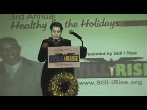 Still I Rise   3rd Annual Healthy For the Holidays: Carolyn Mitchell speaks
