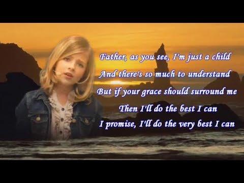 Jackie Evancho - To Believe w/Lyrics