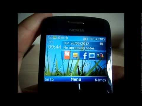 how to instal a theme on the nokia c3