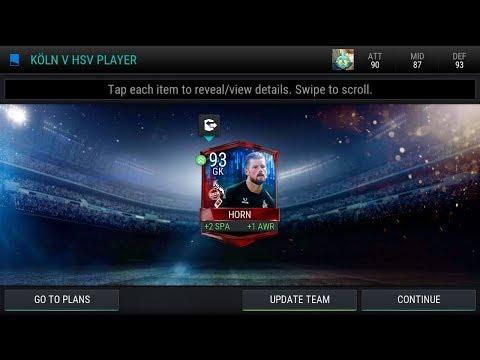 Fifa mobile - Koln V Hsv pack opening ( Insane pull!!  )