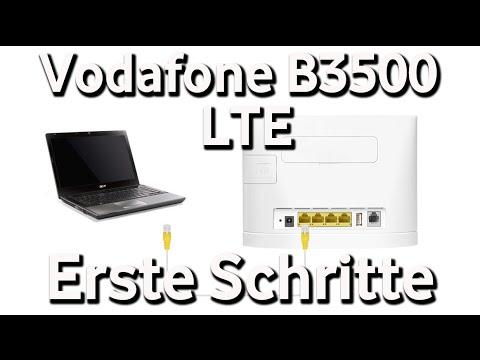 vodafone b3500 lte router erste schritte vodafone. Black Bedroom Furniture Sets. Home Design Ideas