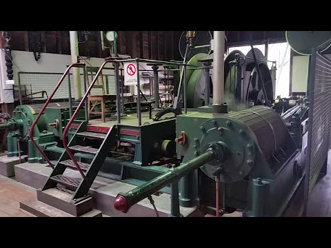 Cage Winding Steam Engine Gympie Gold Mining Museum 02 10 17