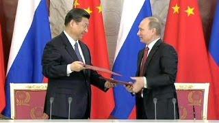Xi Jinping in Moskau: Kleine Aufmerksamkeiten erhalten die Freundschaft