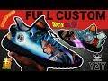 "Full Custom | ""Saiyan Prince"" Yeezy Boost 350 V2 by Sierato"