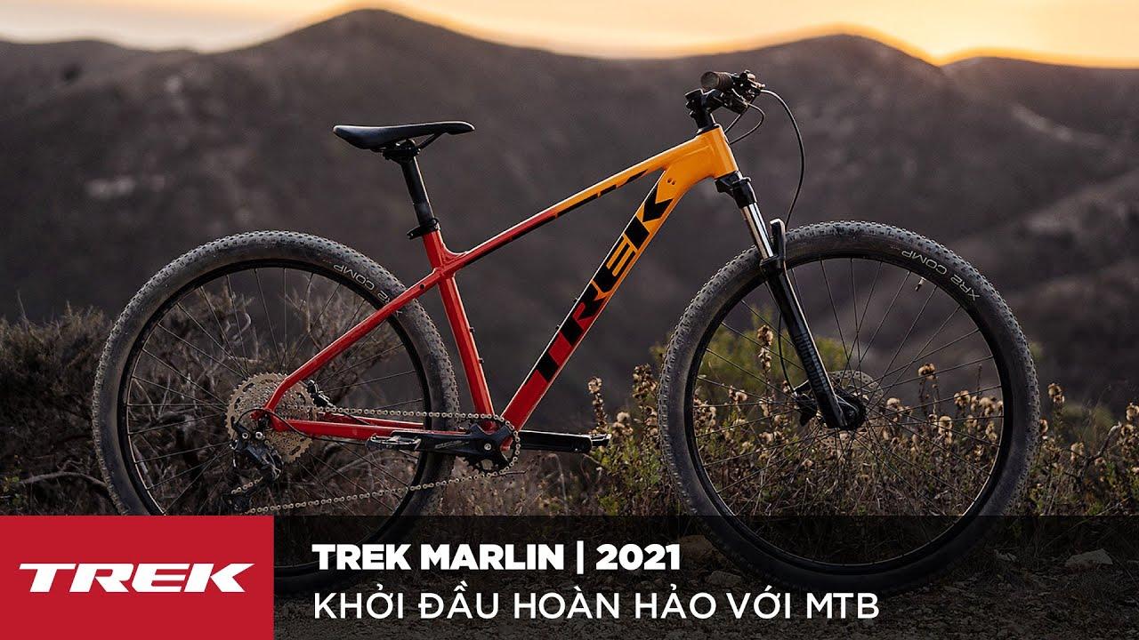 Xe đạp TREK Marlin 2019   Tiêu chuẩn mới cho MTB khởi đầu