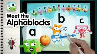 Learn A to Z Letter Sounds & Phonics with Meet the ALPHABLOCKS!