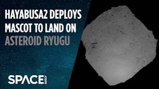 Japanese Probe Drops Shoe-Box Size Lander on Asteroid