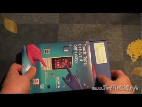 Unboxing di Nokia X3-02 Touch and Type