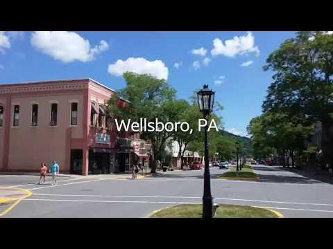 A walk around Wellsboro, PA