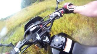 Suzuki dr 200 2009 trail riding !