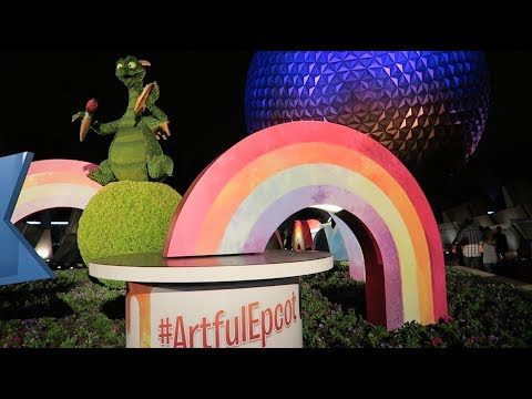 Opening Day of EPCOT Festival of the Arts 2018 | Menu Overview