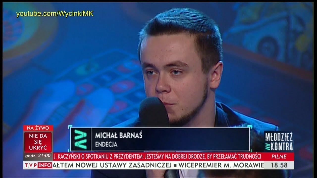 Młodzież kontra 612: Michał Barnaś (Endecja) vs Marek Jakubiak (Kukiz'15) 07.10.2017