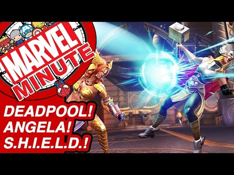 Deadpool! Angela! S.H.I.E.L.D.! - Marvel Minute 2017
