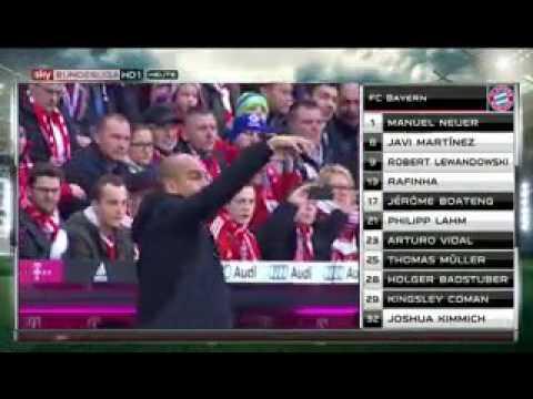 Bayern FC Ingolstadt 2:0 2015/16