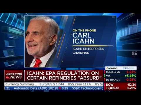 Carl Icahn: Stock Buybacks With Borrowed Money