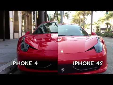 IPhone 4S Vs IPhone 4 Camera Quality Comparison (TURN CC ON FOR SUBTITLES IN ENGLISH)