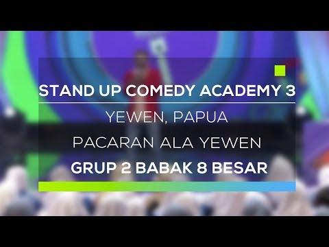 Stand Up Comedy Academy 3 : Yewen, Papua  Pacaran Ala Yewen