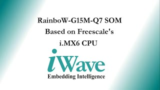 WEC7 on iWave's i.MX6 Development Platform