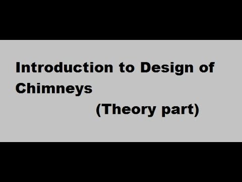 Introduction to design of Chimneys by Working Stress Method Theory Part