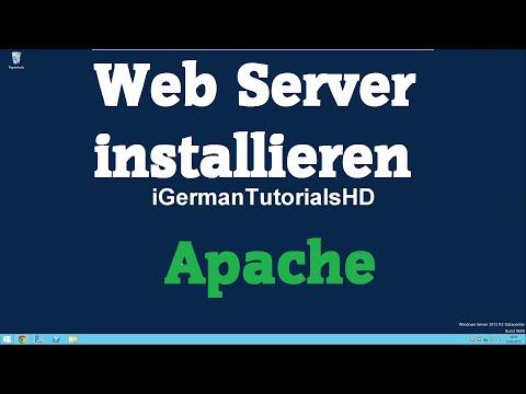 Web Server (Apache) auf Windows installieren - HTML / PHP Server - MySQL - XAMPP - Tutorial HD