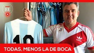 El coleccionista de camisetas de fútbol que no quiere la de Boca Juniors | El Espectador