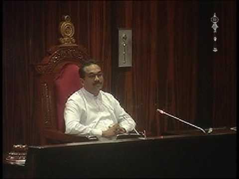 Parliament of Sri Lanka - 30 November 2016  Part 9