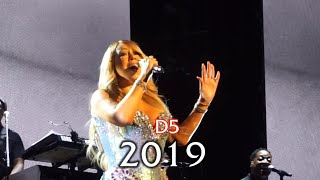 Mariah Carey LIVE D5 Belting Evolution 1990-2019