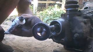 Замена сальника вторичного вала КПП 2101-07.