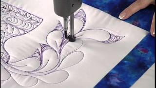 How to Quilt Freehand Feathers?