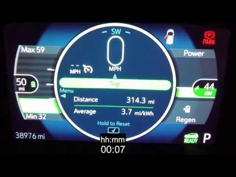 Chevy Bolt EV 480-Mile Trip (50 mph Average Speed)