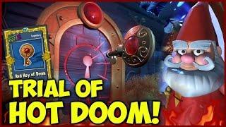 RED TRIAL OF HOT DOOM Tutorial! - TRIALS OF GNOMUS | Plants vs Zombies Garden Warfare 2