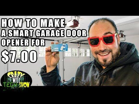 How To Make A Smart Garage Door Opener For  $7.00