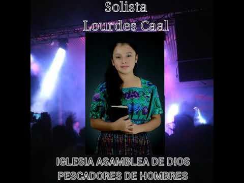 Solista Lourdes Caal