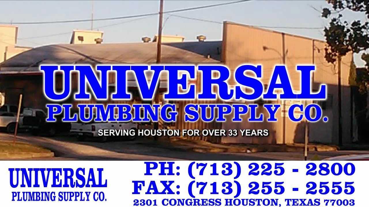 Universal Plumbing In Houston Tx