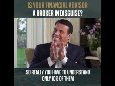 Tony Robbins - Is your financial advisor a broker in disguise? #Unshakeable