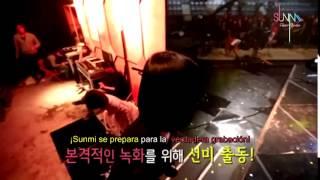Sunmi & Lena BEHIND THE SHOW [Sub Español]